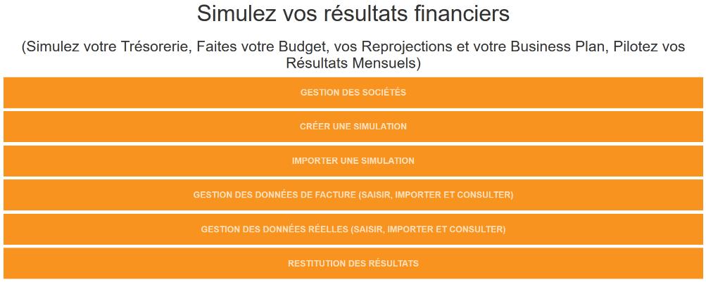 Logiciel Pilotage Financier: Prévisionnel de trésorerie, Simulateur, Gestion Budgétaire, Business Plan